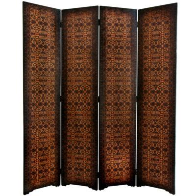 Oriental Furniture 6' Olde Worlde European Room Divider