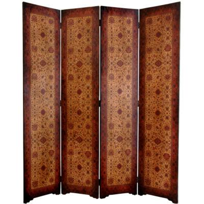 Oriental Furniture 6' Olde Worlde Victorian Room Divider