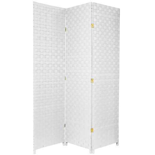 Oriental Furniture 6' Outdoor 3 Panel Room Divider