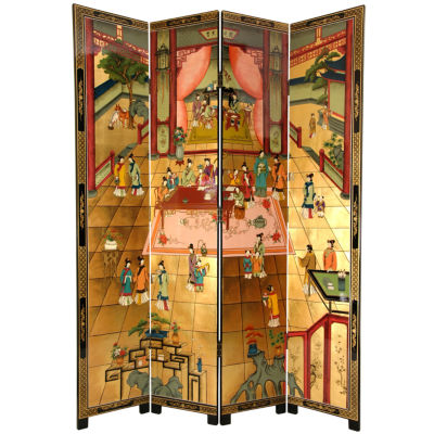 Oriental Furniture 7' Dream Of The Red Chamber Room Divider
