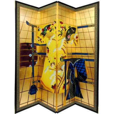 Oriental Furniture Kimono Room Divider