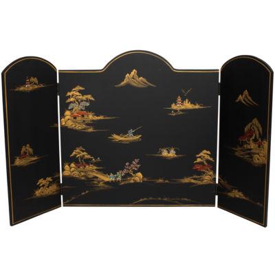Oriental Furniture Landscape Room Divider