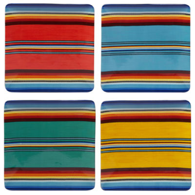 Certified International Pinata 4-pc. Dinner Plate