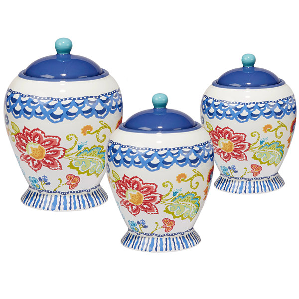 Certified International San Marino 3-pc. Canister