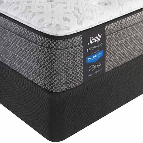 Sealy® Besant Plush Eurotop - Mattress + Box Spring