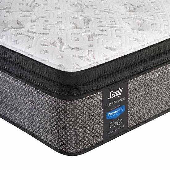 Sealy® Besant Cushion Firm Pillowtop - Mattress + Box Spring