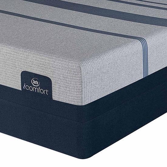 Serta Icomfort Blue Max 3000 Elite Plush Mattress Box Spring