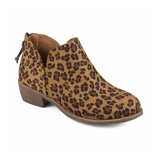 Journee Collection Womens Livvy Booties Block Heel