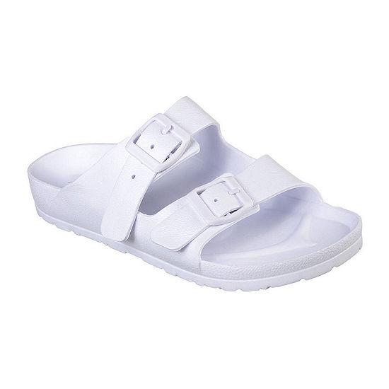 Skechers Womens Cali Breeze Adjustable Strap Flat Sandals