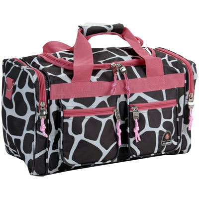"Rockland 19"" Freestyle Carry-On Animal Print Duffle Bag"