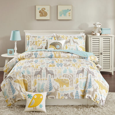INK+IVY Woodland Comforter Set & Accessories