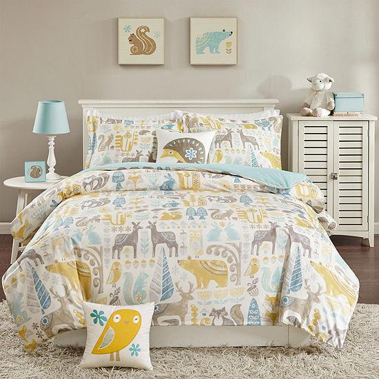 Inkivy Woodland Comforter Set Accessories
