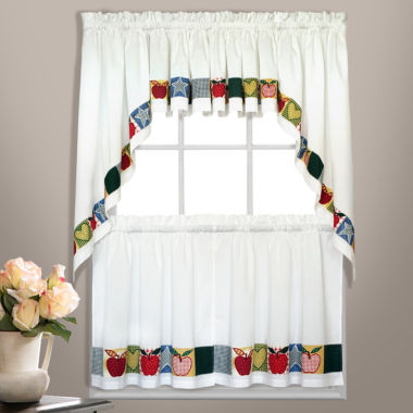jcpenney.com | United Curtain Co. Appelton Rod-Pocket Kitchen Curtains