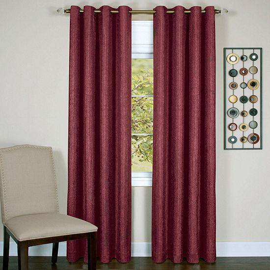Taylor Blackout Grommet-Top Single Curtain Panel