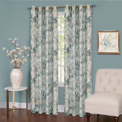 Tranquil Grommet-Top Curtain Panel