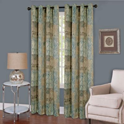Vogue Grommet-Top Curtain Panel