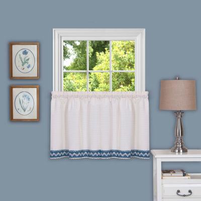 Rod-Pocket Window Tiers