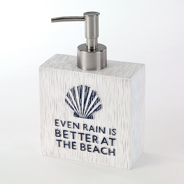Avanti® Beach Words Soap Dispenser