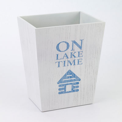 Avanti® Lake Words Wastebasket