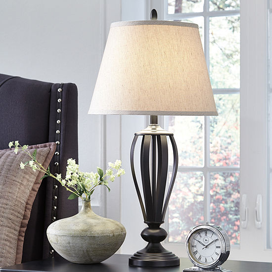 Signature Design By Ashley Set Of 2 Mildred Table Lamps Jcpenney