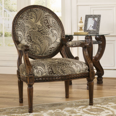 Signature Design by Ashley® Martinsburg Showood Accent Chair