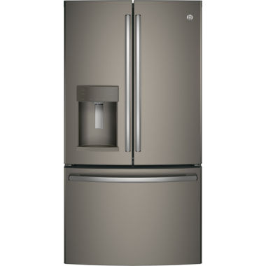 GE® Series ENERGY STAR® 22.2 cu. ft. Counter-Depth French Door Refrigerator