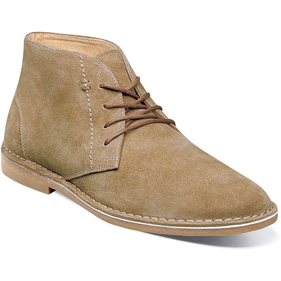 Nunn Bush Mens Galloway Dress Boots Flat Heel