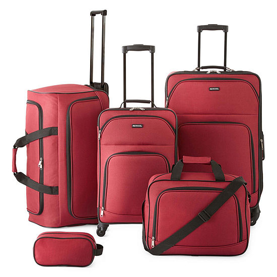 Protocol Simmons 5 Pc Luggage Set