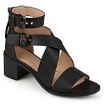 Journee Collection Womens Soraya Heeled Sandals