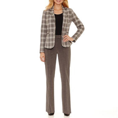 jcpenney.com | Chelsea Rose Long Sleeve Jacket or Straight Pant