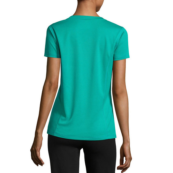 Made For Life Short Sleeve V Neck T-Shirt - Tall
