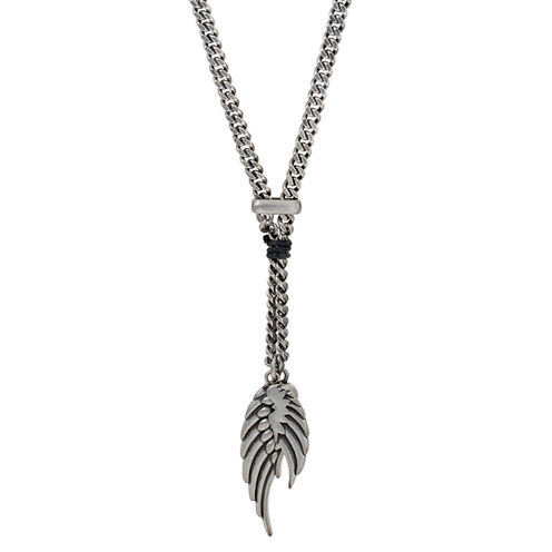 Mens Brass Pendant Necklace