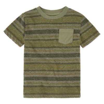 Arizona Striped Pocket T-Shirt - Preschool