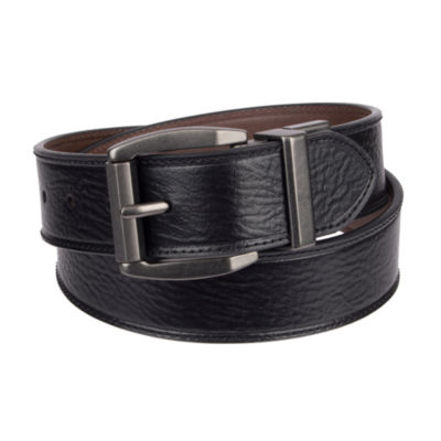 Levi's Leather Men's Belt with Roller Buckle