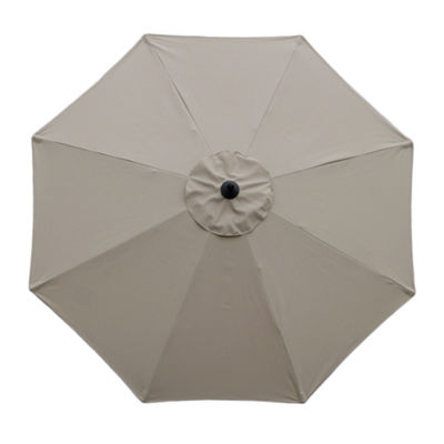 Mirage 9-Ft Octagonal Market Umbrella W/ Auto-Tilt