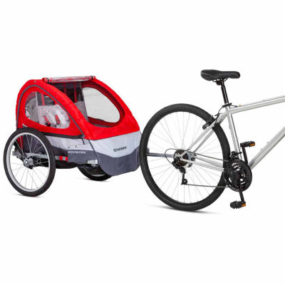 Schwinn Trailblazer Alloy Double Bicycle Trailer