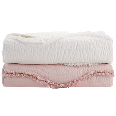 Madison Park Helene Oversized Quilted Quilted Throw