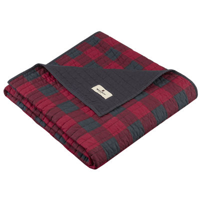 Woolrich Check Quilted Quilted Throw