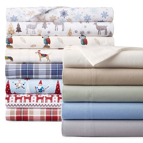 Jcpenney Home Flannel Sheet Sets