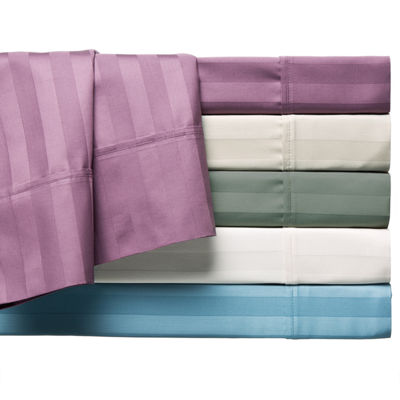 LCM Home Fashions 400TC Stripe Sheet Set