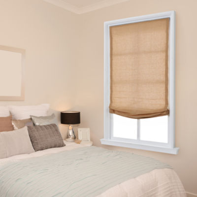 JCPenney Home Relaxed Cordless Light-Filtering Roman Shade