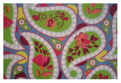 Floral Paislies Rectangular Rugs
