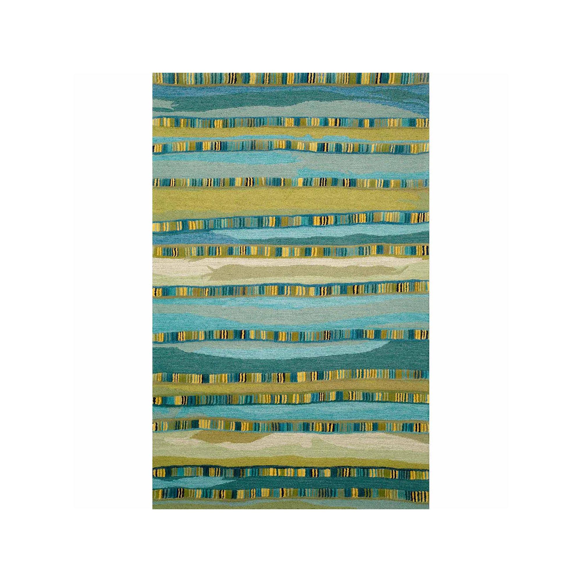Liora Manne Seville Mosaic Stripe Hand Tufted Rectangular Rugs