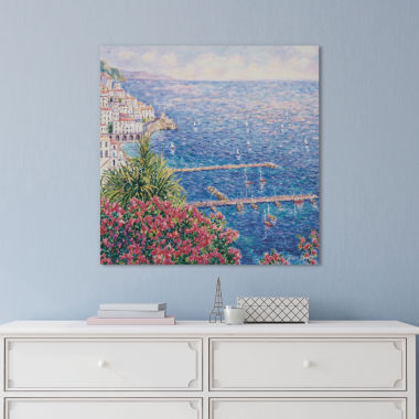 Icanvas Amalfi First View Canvas Art