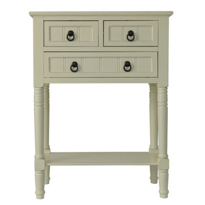 3-Drawer 3-Drawer Console Table