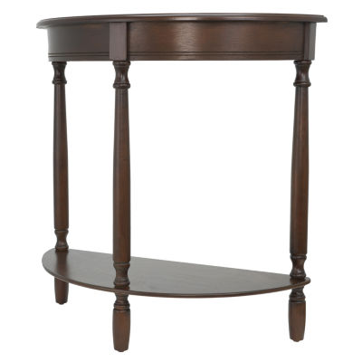 Decor Therapy Half Round Console Table