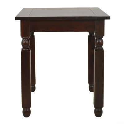 Decor Therapy Traditional End Table