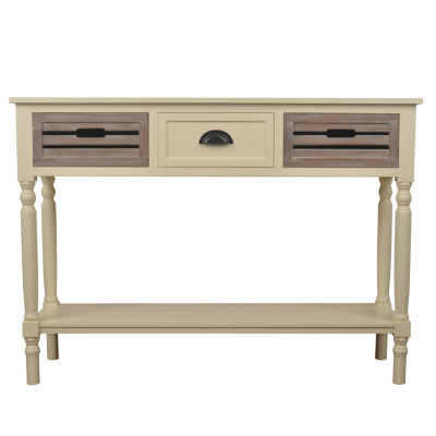 Decor Therapy Melody 3-Drawer Storage End Table