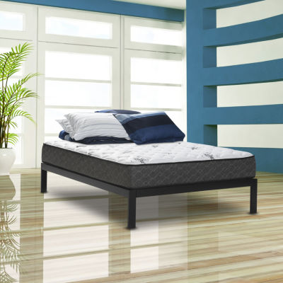 wolf legacy firm hybrid wrapped coil and latex foam mattress