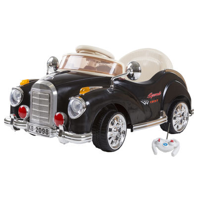 6V Battery-Powered Ride-on Classic Car